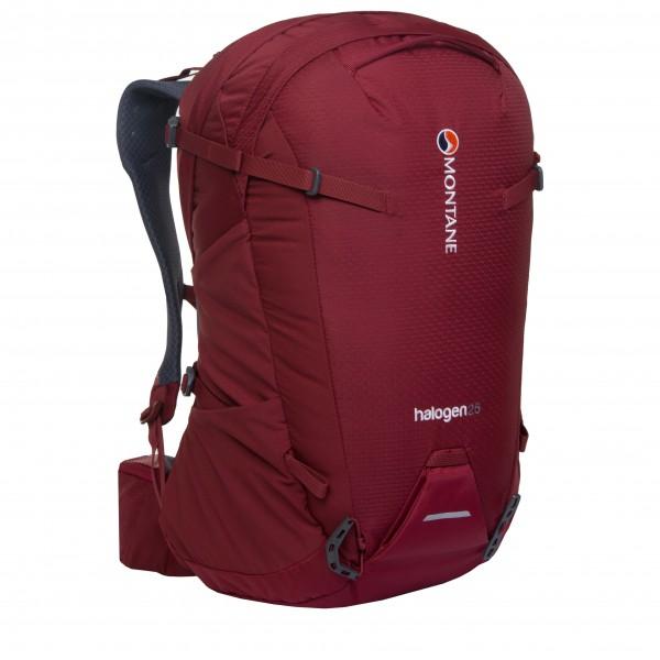 Montane - Halogen 25 - Daypack Gr M/L;S/M schwarz;rot