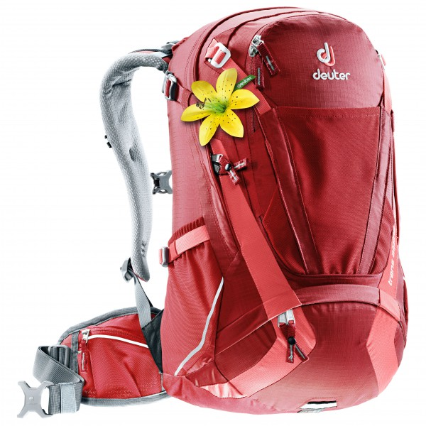 Image of Deuter Women's Trans Alpine 28 SL Bike-Rucksack Gr 28 l rot/rosa