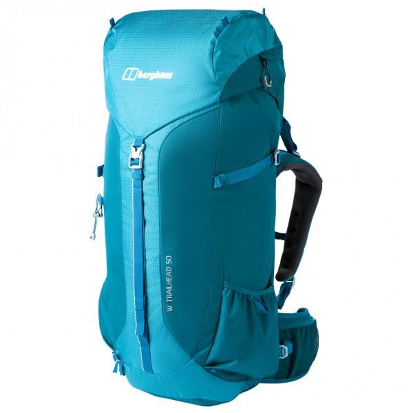 Berghaus - Womens Trailhead 2.0 50 Rucksack - Walking Backpack Size 50 L  Turquoise/blue
