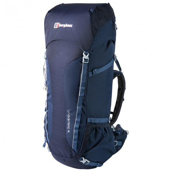 Berghaus - Womens Trailhead 65 Rucksack - Walking Backpack Size 65 L  Blue/black