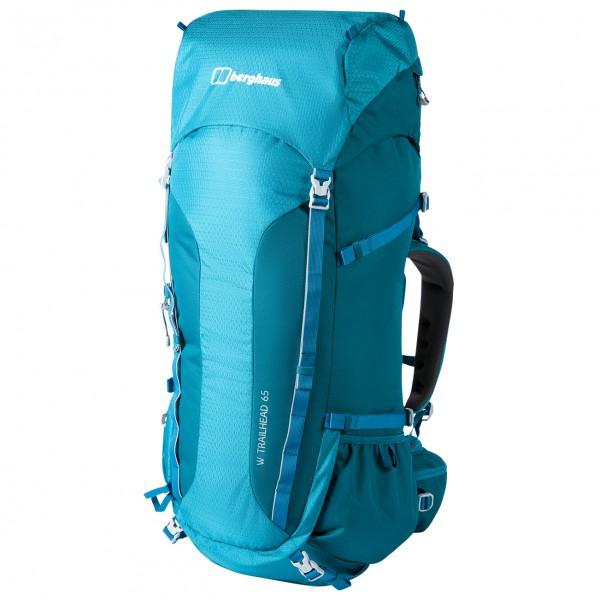 Berghaus - Womens Trailhead 65 Rucksack - Walking Backpack Size 65 L  Turquoise/blue