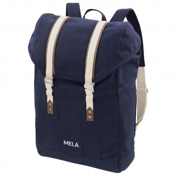 MELAWEAR - Rucksack Mela V - Sac à dos journée taille 20 l, noir/bleu