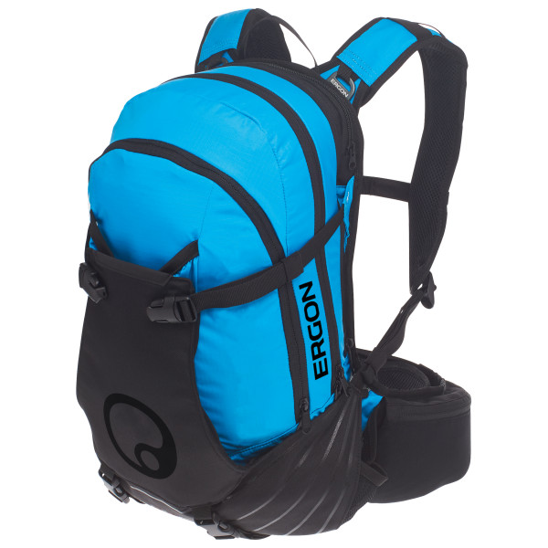 Ergon - BA3 15+2 - Bike-Rucksack Gr 15+2 l schwarz/blau 45000865