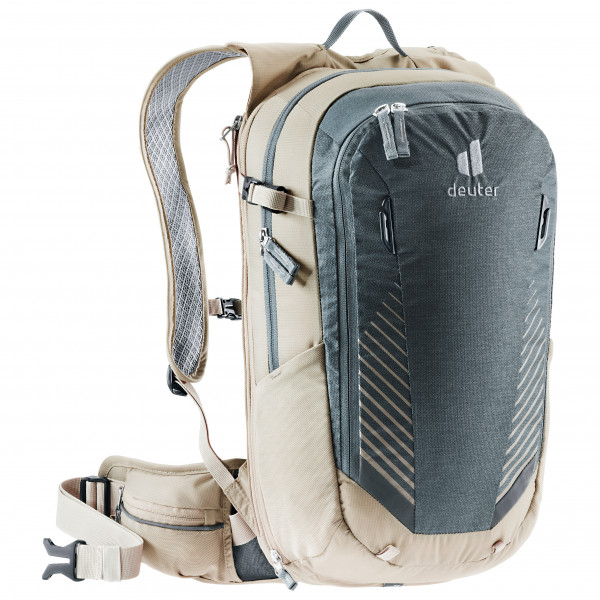 Deuter - Compact Exp 14 - Cycling Backpack Size 14 L  Grey/white/black