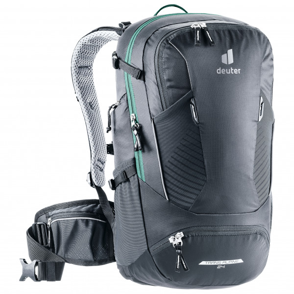 Deuter - Trans Alpine 24 - Cycling Backpack Size 24 L  Grey/black