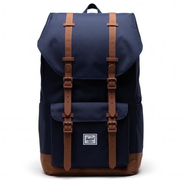 Herschel - Little America Eco 25 - Daypack Size 25 L  Black/blue/brown
