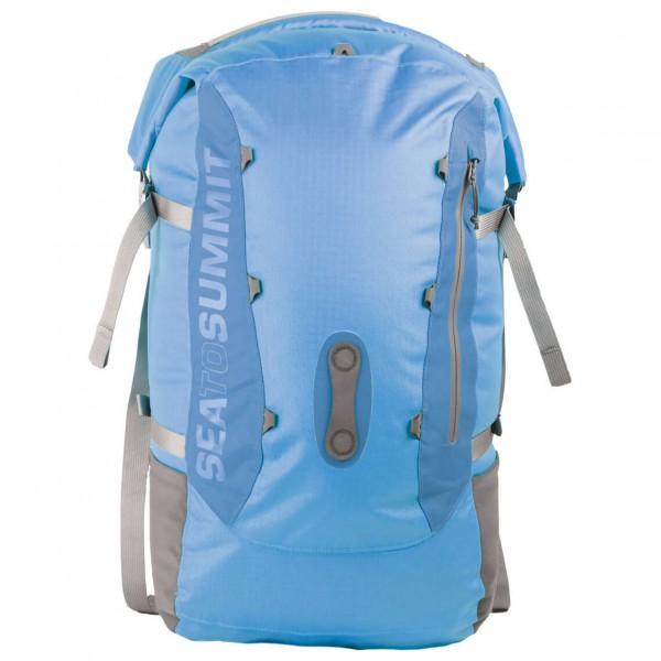 Sea to Summit - Flow 35 Drypack - Kletterrucksack Gr 35 l blau/grau AWDP35BL