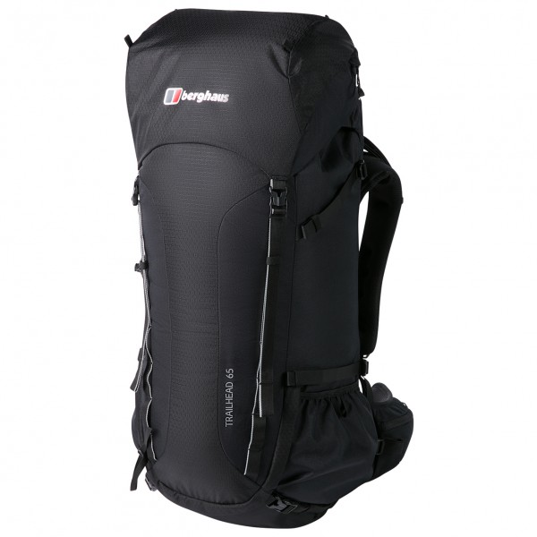 Berghaus - Trailhead 65 Rucksack - Walking Backpack Size 65 L  Black