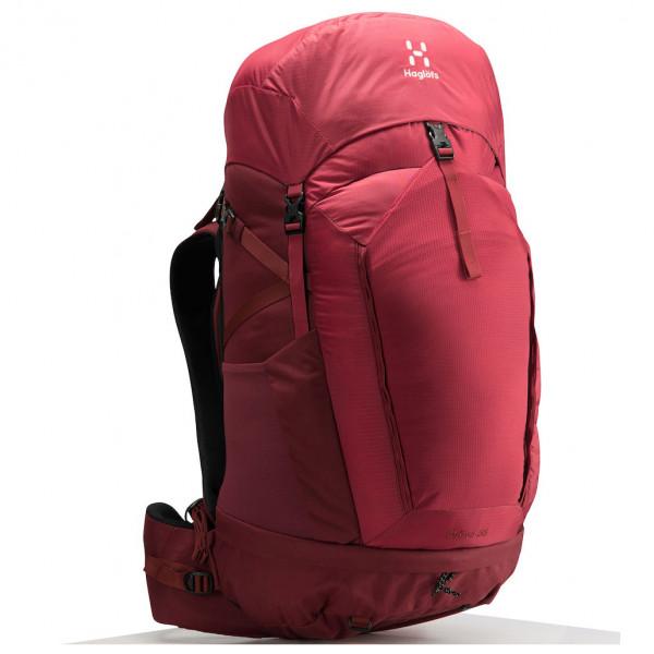 *Haglöfs – Ströva 55 – Trekkingrucksack Gr 55 l – M-L;55 l – S-M rot/rosa;schwarz/grau/oliv*