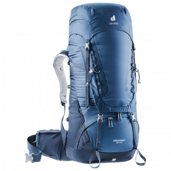 Deuter - Aircontact 55+10 - Walking Backpack Size 55 + 10 L  Blue/grey