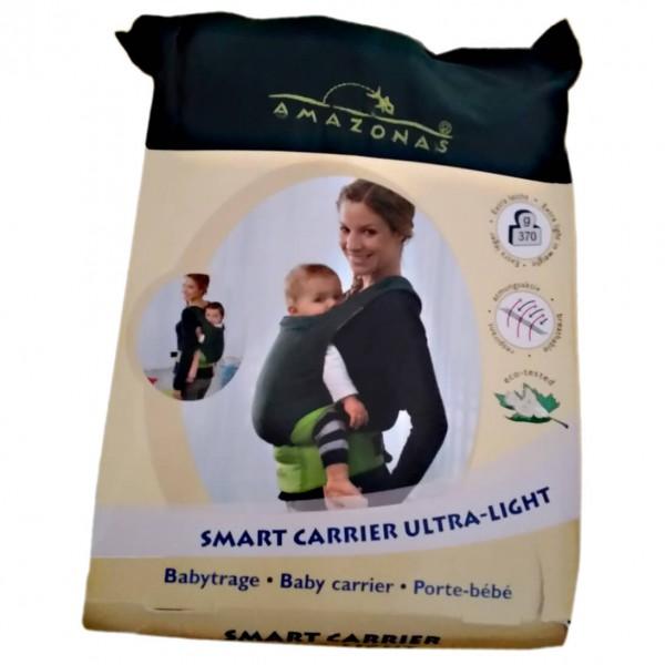 Amazonas - Babytrage Smart Carrier Ultra Light - Kinderkraxe grau/schwarz/beige Preisvergleich