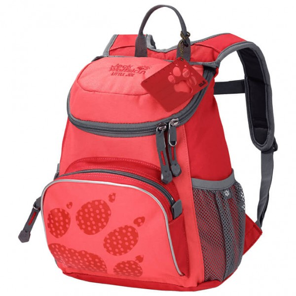 Jack Wolfskin Kid´s Little Joe Kinderrugzak maat 11 l rood