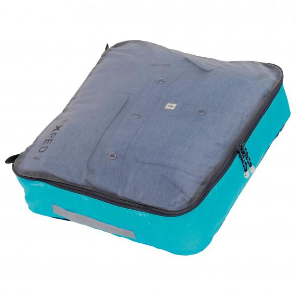 Image of Exped Mesh Organiser Packsack Gr XL grau/türkis