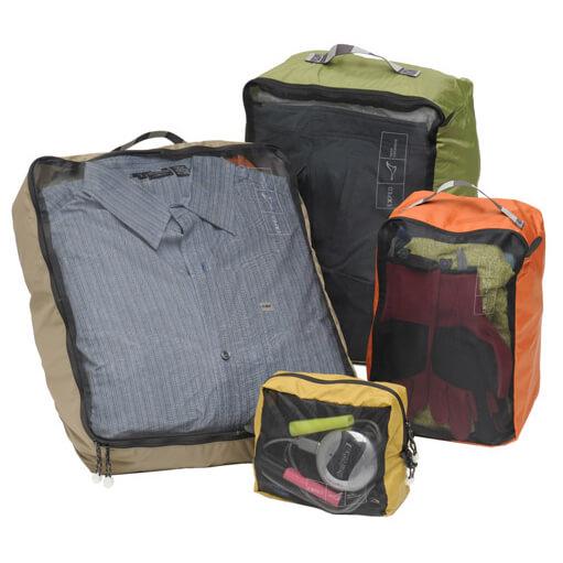Image of Exped Mesh Organiser Packsack Gr S;XL grau/türkis;grün