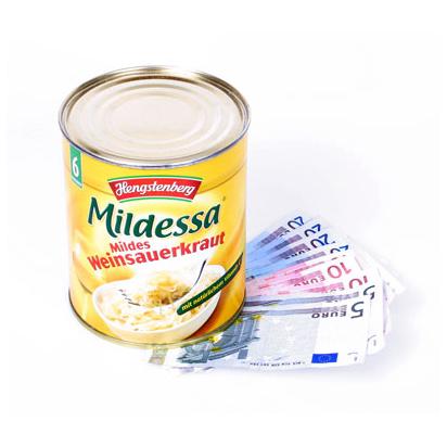 PlasticFantastic - Dosensafe Hengstenberg Sauerkraut - Schutzbox gelb 056010