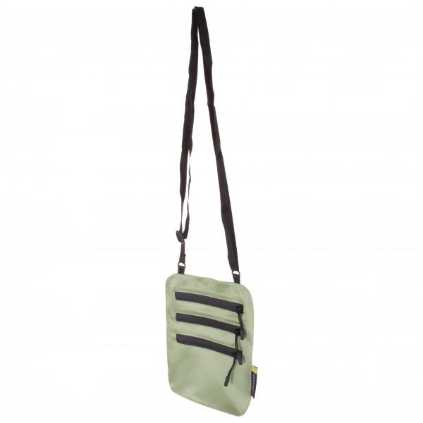 Cocoon - Secret Neck Wallet / Silk Wertsachenbeutel Gr 19 x 16 cm grün