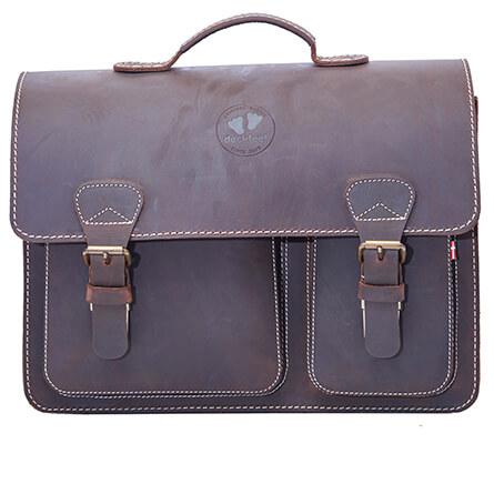 Duckfeet - Hjalte School Bag - Umhängetasche Gr One Size grau/schwarz
