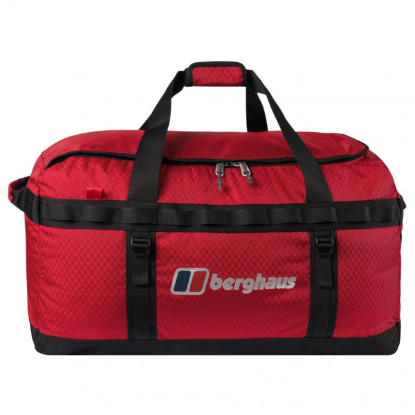 Berghaus - Expedition Mule 60 Holdall - Luggage Size 60 L  Red/black