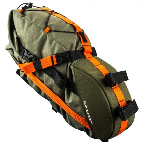 Birzman - Packman Travel Saddle Pack - Bike Bag Size 6 L  Black/olive