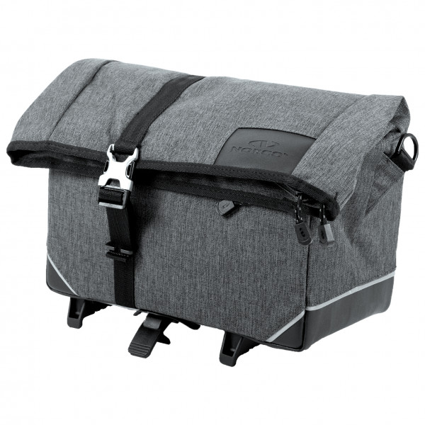 Norco Bags - Exeter Gepäckträgertasche Topklip - Gepäckträgertasche Gr 10 l grau/schwarz 0237TS