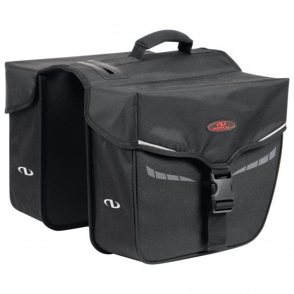 Norco Bags - Idaho Doppeltasche - Gepäckträgertasche Gr 2 x 10 l schwarz 0205AS