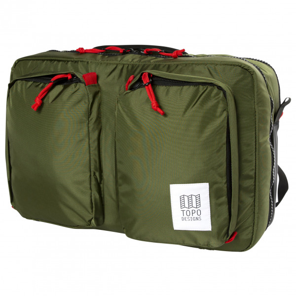 Topo Designs - Global Briefcase 3-Day - Umhängetasche Gr 23 l oliv TDGB3F19OL