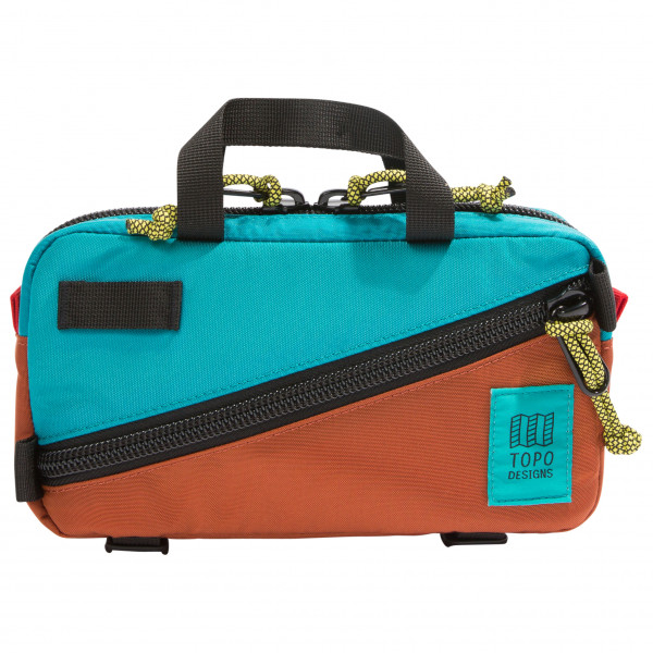Image of Topo Designs Mini Quick Pack Hüfttasche Gr 1 l blau/schwarz;grau/schwarz;lila/schwarz;orange;orange/schwarz;orange/schwarz/rot;rot/schwarz;schwarz