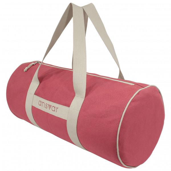 MELAWEAR - Sports Bag Ansvar III - Reisetasche Gr 24 l rosa/grau mw-500-602-red