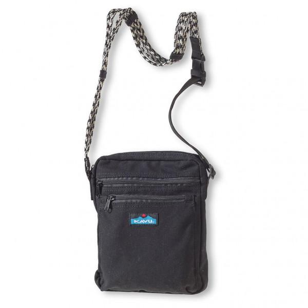 KAVU - Zippit - Umhängetasche Gr 25,4 x 20,3 cm schwarz/grau 873-20