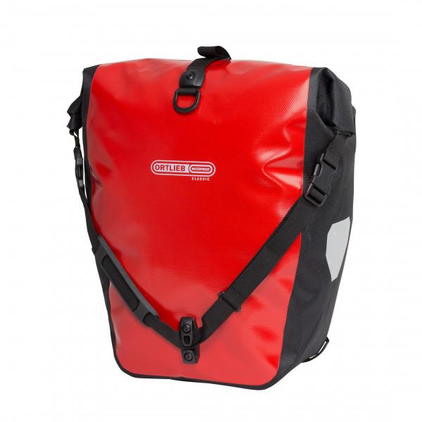 Image of Ortlieb Back-Roller Classic Gepäckträgertaschen Gr 20 l orange/schwarz;rot/schwarz;schwarz;schwarz/grau;türkis/schwarz/blau