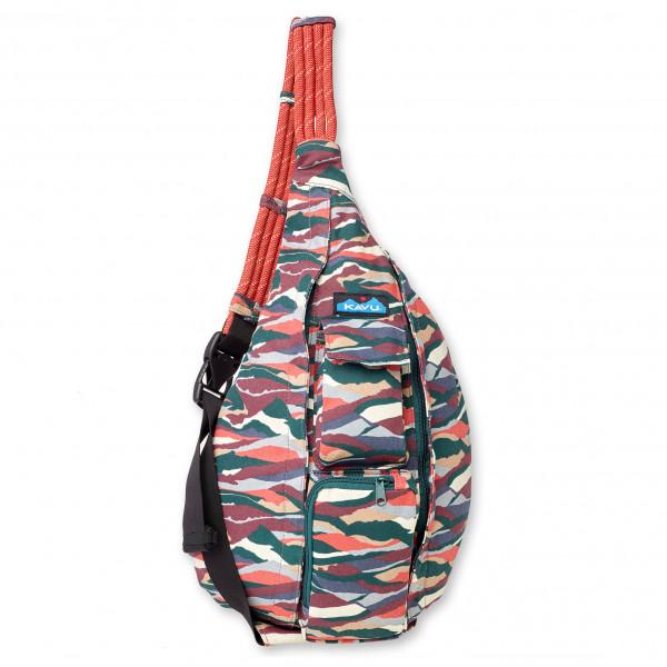 KAVU - Rope Bag 10 - Umhängetasche Gr 10 l grau/rot 923-1296