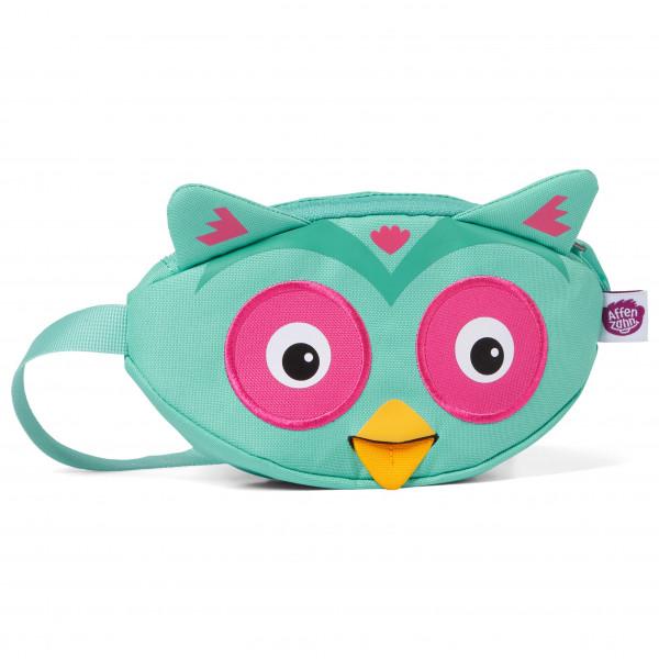 Affenzahn - Bauchtasche Eule - Hip Bag Size One Size  Turquoise/pink