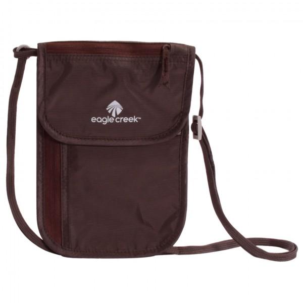 Eagle Creek - Undercover Neck Wallet Dlx - Valuables Pouch Size 14 X 20 Cm  Black/brown