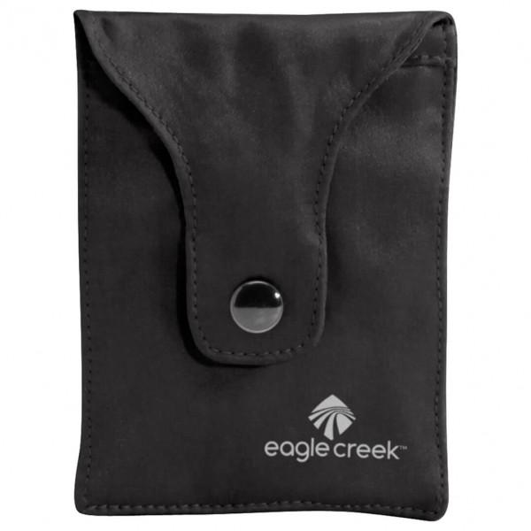 Eagle Creek - Silk Undercover Bra Stash - Valuables Pouch Size 7 X 10 Cm  Black