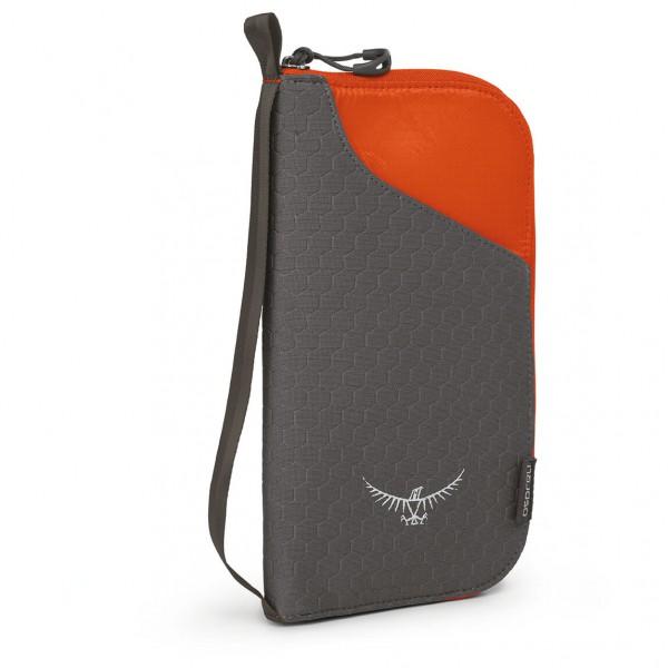 Osprey - Document Zip Wallet - Geldbeutel Gr One Size schwarz 5-704-1