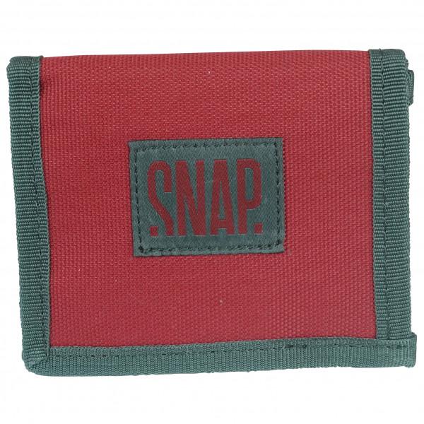 Snap - Wallet - Geldbeutel rot/rosa/türkis WT