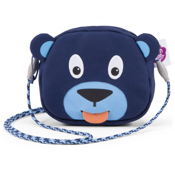Affenzahn - Portemonnaie Bär - Geldbeutel Gr One Size blau/grau AFZ-WAL-001-003