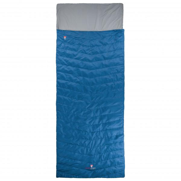 Grezi Bag - Biopod Wolle Almhtte - Synthetic Sleeping Bag Size 195 Cm  Blue/grey