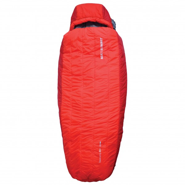 Sea to Summit - BaseCamp Synth BT4 - Kunstfaserschlafsack Gr Large rot