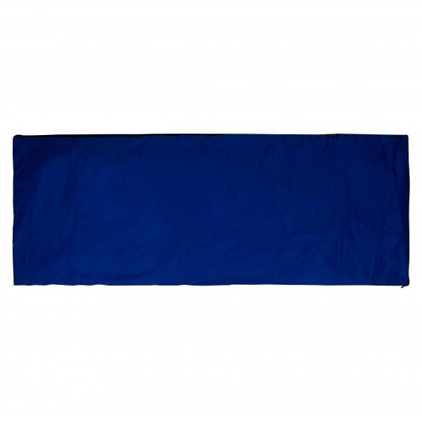 Cocoon - Tropic Traveler Silk Sommer- und Tropenschlafsack - Kunstfaserschlafsack Gr 200 x 80 cm Blau/ Tuareg SB02