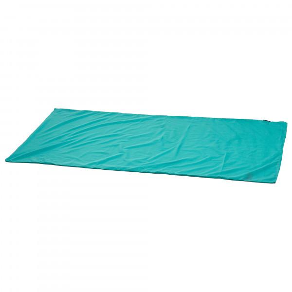 Sea To Summit - Silk/cotton Travel Liner - Travel Sleeping Bag Size Standart (rectangular)  Turquoise