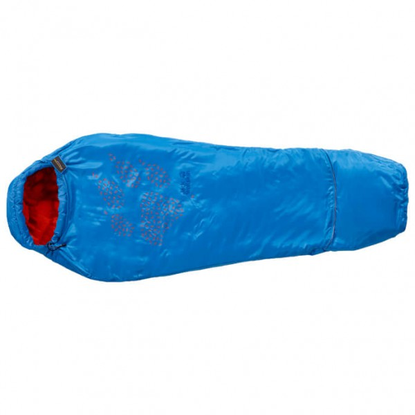 Jack Wolfskin - Kid's Grow Up Kids - Kinderschlafsack Gr 130 - 170 cm blau