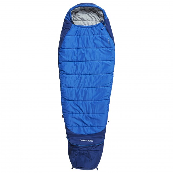Nordisk - Knuth Junior - Kinderschlafsack Gr 160-190 cm Blau 110436blau