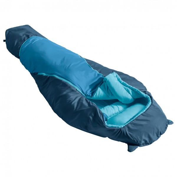 Vaude - Kids Alpli Adjust 400 Syn - Kids Sleeping Bag Size 135-160 Cm  Blue/turquoise
