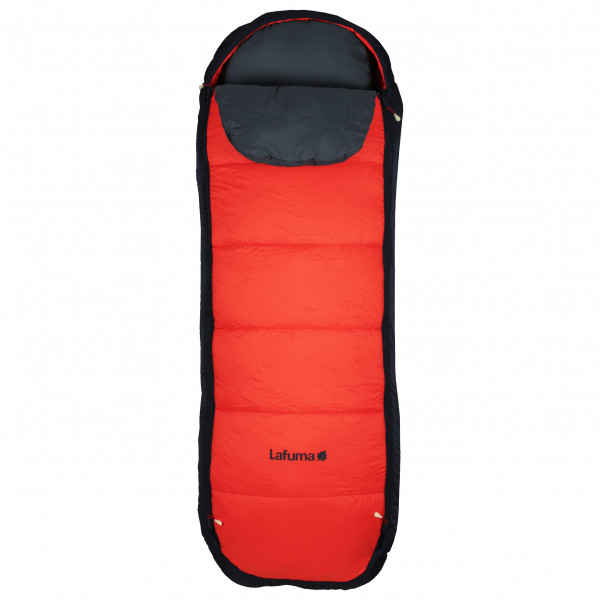 Lafuma - Nunavut Kid - Kinderschlafsack Gr One Size Rot/Schwarz LFC1633