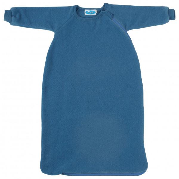 Reiff - Kid's Fleeceschlafsack mit Arm - Kinderschlafsack Gr 62/68 Blau 201113