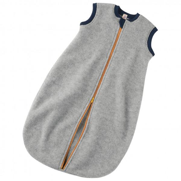 Engel - Baby-Schlafsack mit Reißverschluss - Kinderschlafsack Gr 74/80;86/92 74/80 Grau 576030