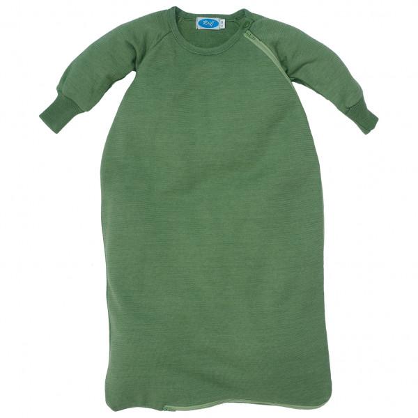Reiff - Kid's Schlafsack Frottee mit Arm - Kinderschlafsack Gr 62/68 Oliv 30170313