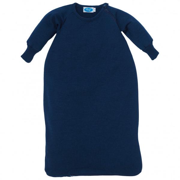 Reiff - Kid's Schlafsack Frottee mit Arm - Kinderschlafsack Gr 74/80 Blau 3017032