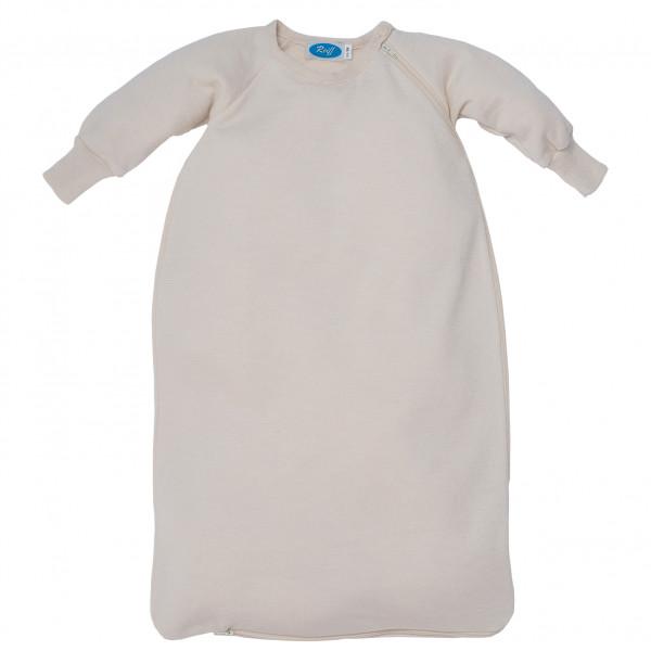 Reiff - Kid's Schlafsack Frottee mit Arm - Kinderschlafsack Gr 86/92 Grau 3017031